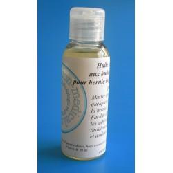 Huile de massage HERNIALE pour hernie inguinale, crurale ou ombilicale